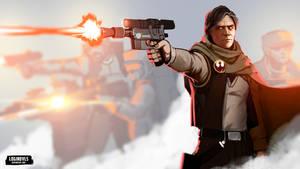 Han Solo - Resistance - Star Wars by LoginovLS