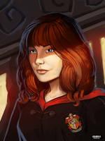 Gryffindor student by LoginovLS