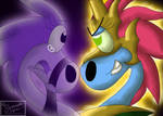 A Tormenting Duality by Serpanade-Toons