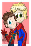 Spider Boys by Serpanade-Toons