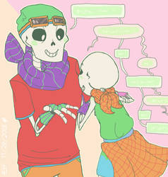 Some Cute Skeletons by InsanityCreator