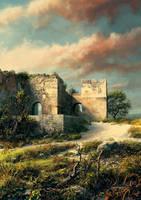 Paderne castle by VityaR83