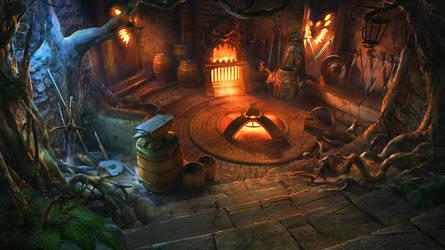 Cabin Inside by VityaR83