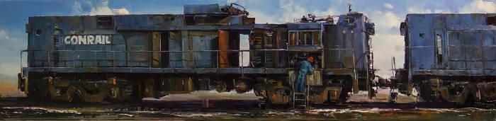 Train by VityaR83