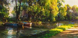 River Boats by VityaR83