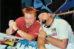 DBZ VAs at Comic-Con 2003 by darkhorse768