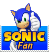 Sonic The Hedgehog Fan Stamp by shadowslasher11X