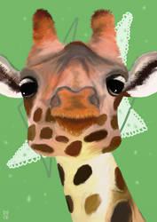 Giraffeeee by hannxm