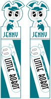 Bookmarks - MLaaLR -Blue Jenny by Hikoishi