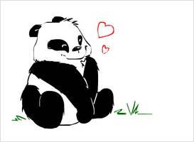 Panda, for PandaTamy by Hikoishi