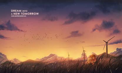Dream Into a New Tomorrow by CHOBI-PHO