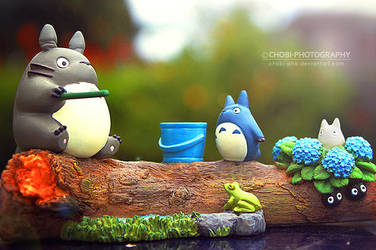 My Neighbor Totoro! by CHOBI-PHO