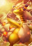 THUNDER DRAGON - MEGA AMPHABULOUS by CHOBI-PHO
