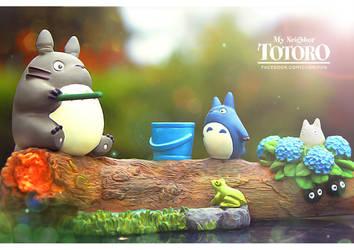 My (New!) Neighbor Totoro! by CHOBI-PHO