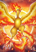 THE RING OF FIRE - RISE OF MOLTRES by CHOBI-PHO