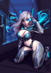 Project: Ashe by Blushy-Pixy