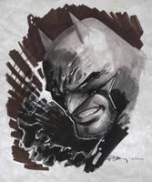 Batman Con sketch by ryanbnjmn