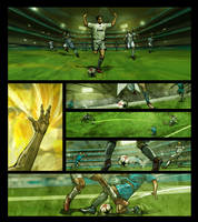 Adidas Comic Page by ryanbnjmn