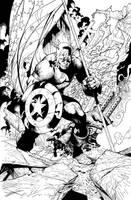 Captain America by ryanbnjmn