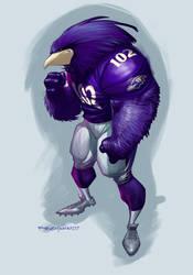 Baltimore Ravens by ryanbnjmn