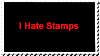 I Hate Stamps by topcity83