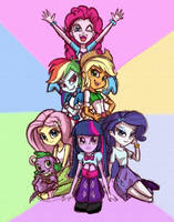 Equestria Girls by Rahdys