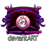 I Support 'FallenRox by JesseLax