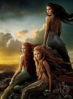 Reef of Mermaids by SirKannario