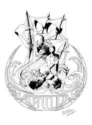 Sirens Tattoo by SergioSandoval