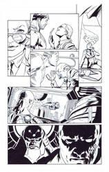 ART FOR SALE. DCU Online Legends vol 9 pg 7 by SergioSandoval