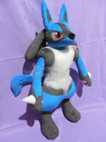Lucario Plush OC by SuperKawaiiStudios