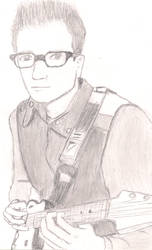 Rivers Cuomo by LarkSevenZero