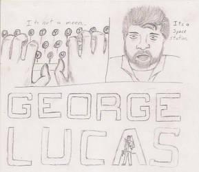 George Lucas  Alan Wake parody by LarkSevenZero