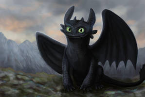 Toothless by Cinder-Cat