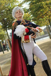 Axis Powers Hetalia: Imperial Prussia Cosplay by GoldenMochi