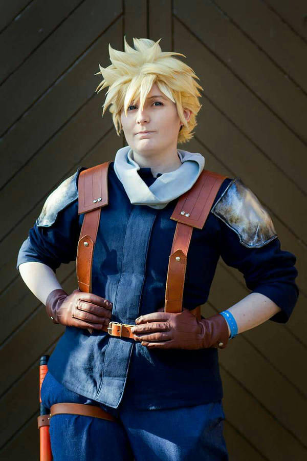 Final Fantasy 7: Crisis Core Cloud Cosplay by GoldenMochi