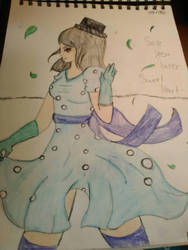 Blue Dress by Tiger-Chan77
