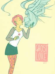 ghost love by digital-marginalia