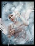 Angel in Winter by xeena-dragonkizz
