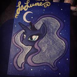'Cosmic Hairstyles - Lunar 2' by PeachiePaws