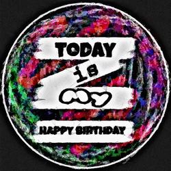 My happy birthday!!! by RoyMind
