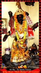 Kali Maa - The Great Dark Mother of Creation by Ravimishra085