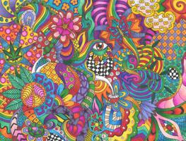Hippie Paradise by Liquid-Mushroom
