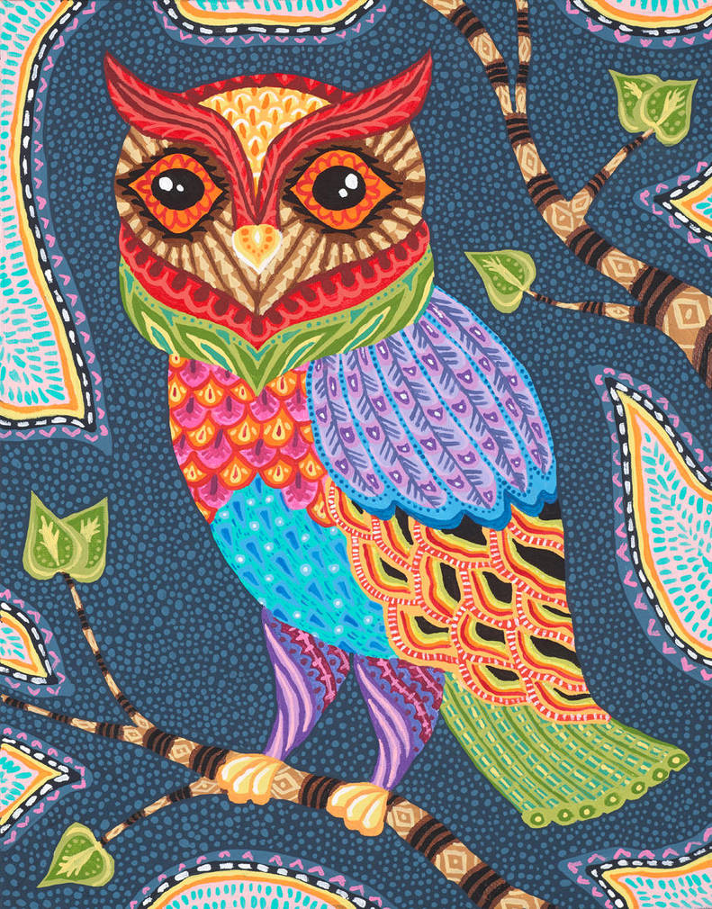 Orson Owl by Liquid-Mushroom