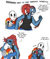 [UT Spoilers?] Like hugging a Muk by zarla