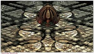 Bright Metallic Structure by mario837