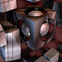 Metallic Shapes VI by mario837