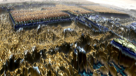 Alien Landscape I by mario837