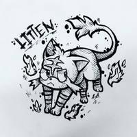 Litten by TyphDA
