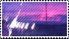 purple sky stamp by catstam